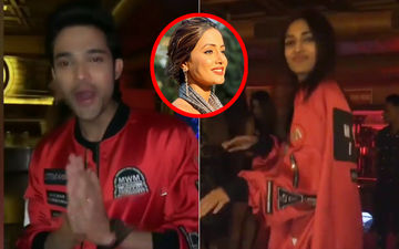 Parth Samthaan Birthday Bash: Erica Fernandes Aka Prerna Borrows Anurag's Jacket; Hina Khan Is MIA!