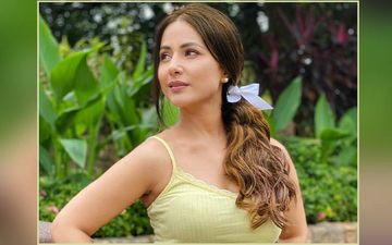 Hina Khan Is OD'ing On The Messy Hair Look And We Can't Get Enough Of It