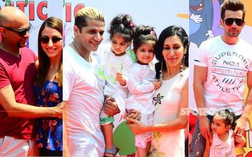 Karanvir Bohra's Twins, Vienna and Ray Bella Bohra Throw A Holi Bash: Kashmira Shah, Jay Bhanushali, Raj Kundra, Raghu Ram And Many Celebs Make An Entry
