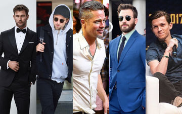 HOLLYWOOD'S HOT METER: Brad Pitt, Chris Evans, Robert Pattinson, Tom Holland Or Chris Hemsworth?