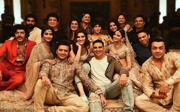 फिल्म 'हाउसफुल 4' की शूटिंग हुई पूरी, अक्षय कुमार ने सोशल मीडिया पर शेयर की तस्वीर