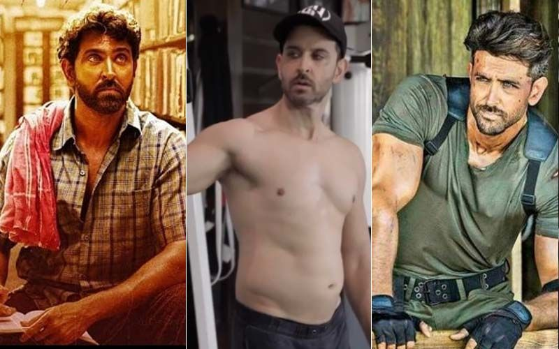 From Anand Kumar To Kabir, Hrithik Roshan's Greek God Physique In WAR Didn't Come Easy, This Transformation VIDEO Is Proof