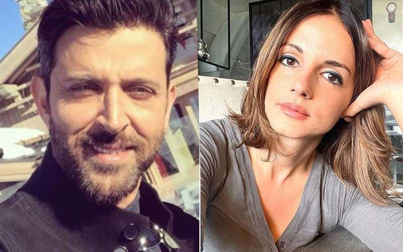 Hrithik Roshan Drops A Comment On Ex-Wife Sussanne Khan's Intense Workout Video; Here's What He Said