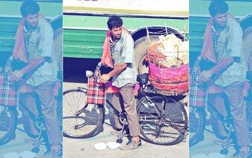 सुपर 30: जयपुर में पापड़ बेचते नज़र आए रितिक रोशन, हालत देख पहचानना मुश्किल