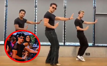 Tiger Shroff Does The Ek Pal Ka Jeena Dance For Birthday Boy Hrithik Roshan And It's Fabulous- Watch Video