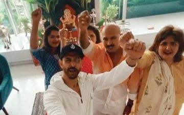 Anant Chaturdashi 2020: After Bidding Farewell, Hrithik Roshan Shares Ganpati Celebration Video; Says: 'Ganpati Festival Always Brings Back My Childhood'