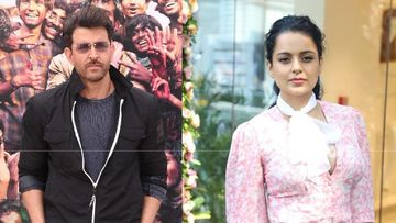 Hrithik Roshan Summoned By Crime Intelligence Unit To Record His Statement In A Case Against Kangana Ranaut Over Alleged Exchange Of Emails - REPORTS