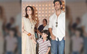 Sussanne Khan Moves In With Hrithik Roshan To Co-Parent Their Kids During The 21 Day Lockdown To Nip Coronavirus