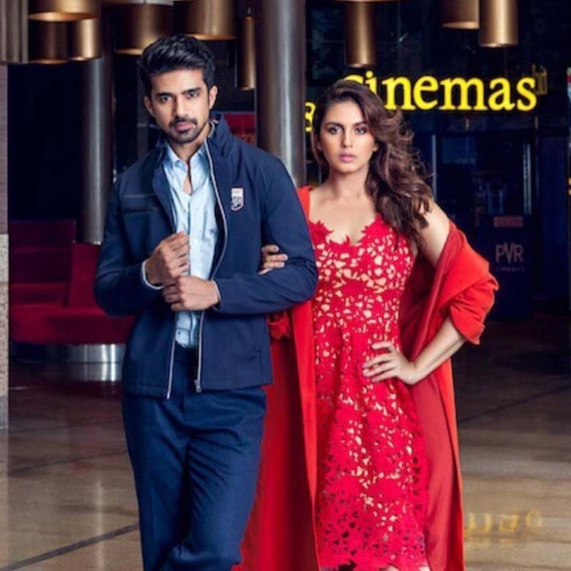 Huma Qureshi And Saqib Saleem Poses For The Camera