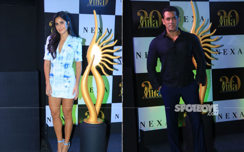 Salman Khan And Katrina Kaif Are Back But This Time For IIFA 2019 Announcement
