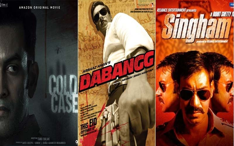 From Salman Khan's Dabangg To Prithviraj's Cold Case The Cop Universe Of Indian Cinema Continues To Expand But Let's Look At Some Of The Most Loved Cops!