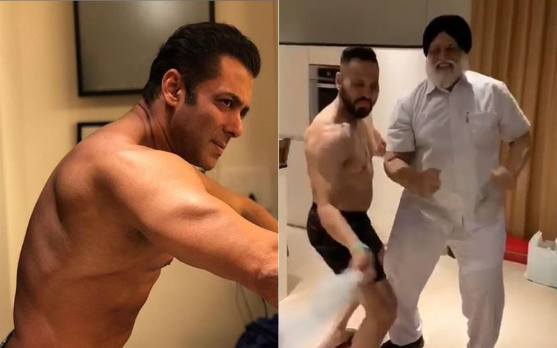 Shera's Got The Moves! Salman Khan's Bodyguard Breaks Into An Elvis Presley Act: How-larious Video Alert!