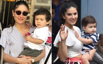 Taimur Ali Khan Has A Doppleganger In Sunny Leone's Son. Don't Believe Us? Check Out Their Pics