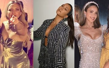 HOLLYWOOD'S HOT METER: Kate Hudson, Kourtney Kardashian Or Jessica Alba - Ladies In Love With Shimmer