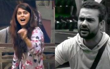 Bigg Boss 13: Angry Madhurima Tuli Calls Ex Vishal Aditya Singh 'Eunuch' Twice; Word Gets Muted