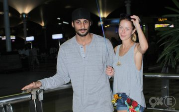 Exclusive Prateik Babbar Snapped With His New Girl Friend