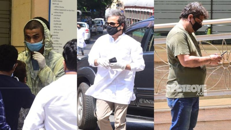 Irrfan Khan Funeral: Actor's Sons, Filmmakers Tigmanshu Dhulia And Vishal Bhardwaj Arrive To Pay Last Respects