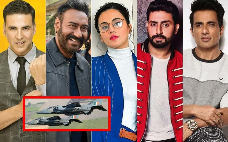 India's Surgical Strike 2: Akshay Kumar, Ajay Devgn, Taapsee Pannu, Abhishek Bachchan, Sonu Sood Applaud The Indian Air Force