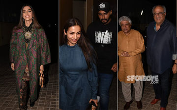Malaika Arora Attends Special Screening Of India's Most Wanted; Cheers For Beau Arjun Kapoor
