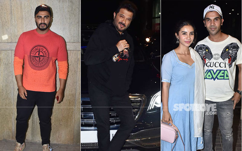 India's Most Wanted Screening: This Arjun Kapoor Film Saw Anil Kapoor, Rajkummar-Patralekhaa, In Attendance