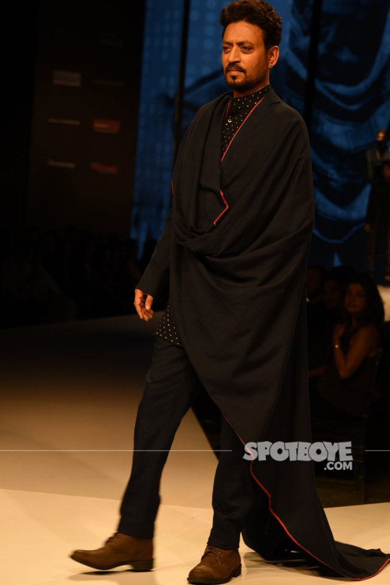 Irrfan Khan Walks At GQ Fashion Night
