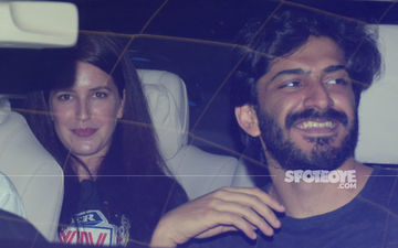 What's Cooking, Good Looking? Isabelle Kaif & Harshvardhan Kapoor Go On A Late Night Movie Date