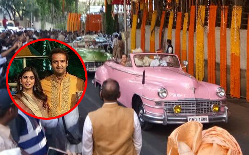 Isha Ambani-Anand Piramal Wedding LIVE Updates: देर रात शाहरुख और सलमान भी पहुंचे नवविवाहित जोड़े को बधाई देने