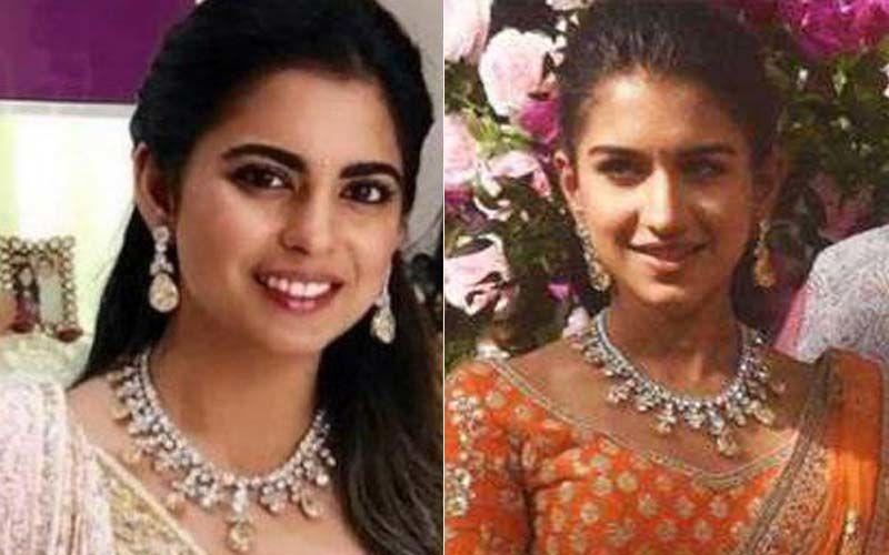 Radhika Merchant Wore Isha Ambani's Diamond Necklace For Akash Ambani-Shloka Mehta's Wedding?