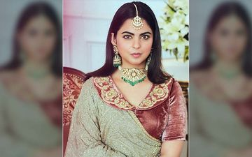 Isha Ambani Just Wore A Peter Pan Collared Blouse With Her Lehenga And Its Jamming The Internet