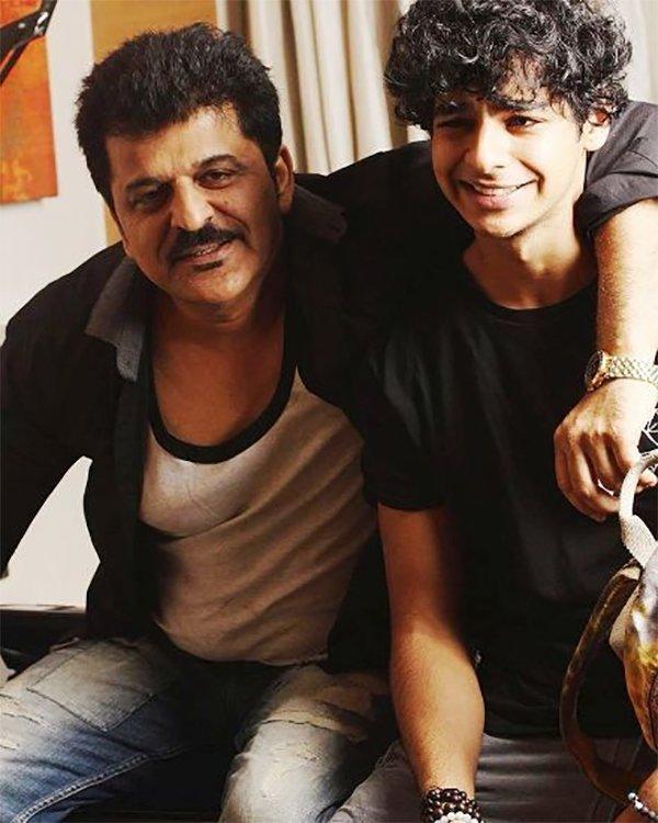 Ishaan Khattar With His Father Rajesh Khattar
