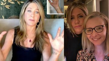 Jennifer Aniston Flaunts Her Mysterious '11 11' Wrist Tattoo Amid Video Chat With FRIENDS Co-Star Lisa Kudrow; It's Fine As Hell
