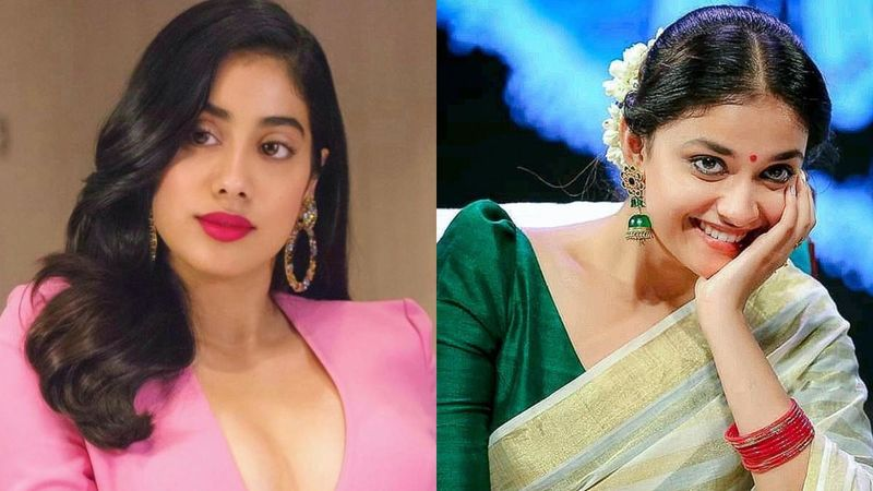 A Crying Janhvi Kapoor Had Once Called Up South Actress Keerthy Suresh; We Know Why