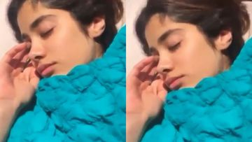 For Janhvi Kapoor, Alarm's Too Cliché; Watch VIDEO To Know How She Instantly Wakes Up From A Deep Sleep