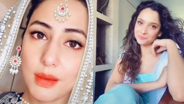 Hina Khan-Ankita Lokhande Channel Their Inner Rajshri Heroines As They TikTok To Salman Khan's Joote De Do Paise Lo