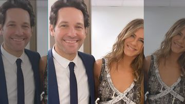 Rachel And Mike From FRIENDS Reunite; Jennifer Aniston Feels That Paul Rudd Is An '83-Year-Old'
