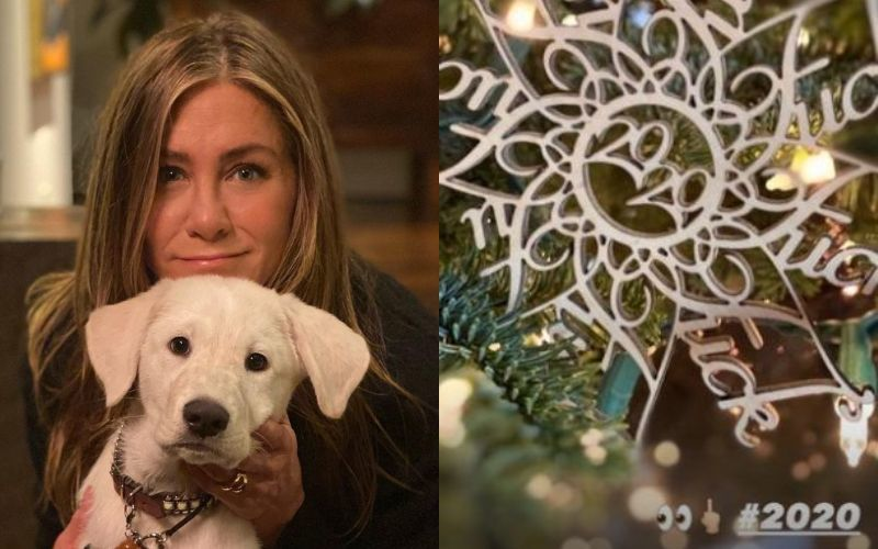 Jennifer Aniston Gives A Peek Into Her Christmas Treats That Come With A Mask-On; Has 'F**k 2020' As A Decoration On Her Tree - PICS