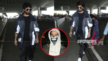 Jersey: Shahid Kapoor Heads Back To The Shoot Post-Recovering From Stitches Due To The Accident– PHOTOS