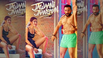 Jawaani Jaaneman New Poster: Shirtless Casanova Saif Ali Khan Is Drool-Worthy; An Awestruck Alaya F Is Proof