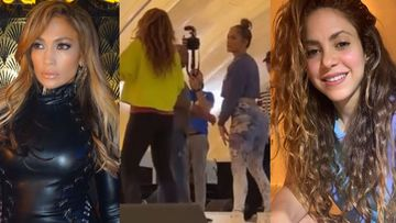 Jennifer Lopez Teaching Shakira How To Shake That A** During Super Bowl 2020 Is UNMISSABLE; Watch Leaked Video