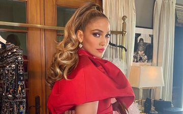 Jennifer Lopez Strips Down To NOTHING; Flashes Her Toned Butt On The Cover Art Of Her Upcoming Single, In The Morning - PIC