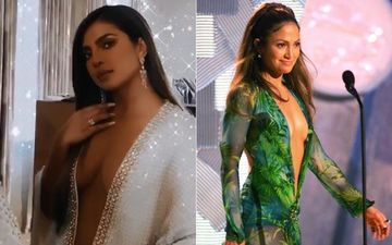 Priyanka Chopra Owns Grammy Awards 2020 In Ultra-Revealing Neckline; Reminds Of Jennifer Lopez's Grammy 2000 Outing