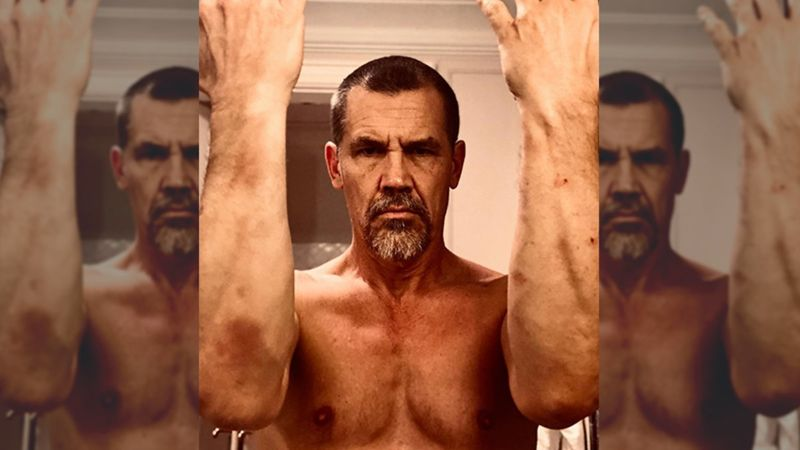 Josh Brolin AKA Avengers' Thanos Tries Butthole Tanning But Ends Up 'Burning His Pucker Hole' Instead, OH SNAP