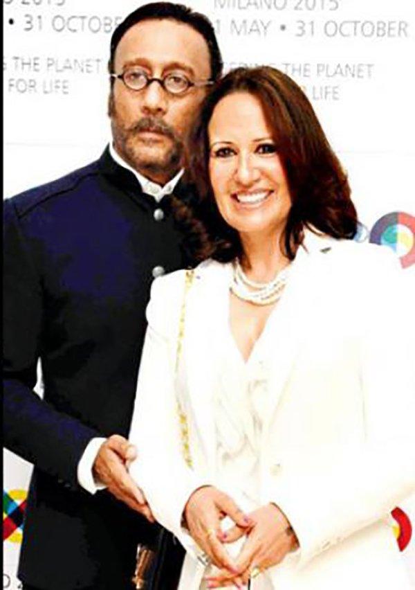 Jakie Shroff And Ayesha Shroff