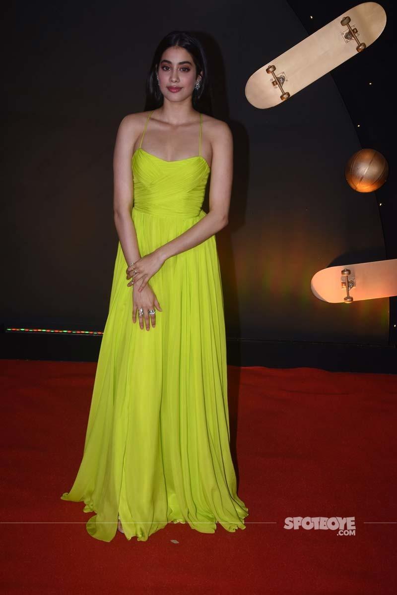 Janhvi Kapoor At Kuch Kuch Hota Hai 20 Years Celebration