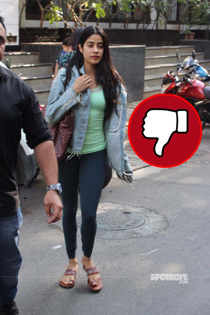 Janhvi Kapoor Was Snapped Outside A Store