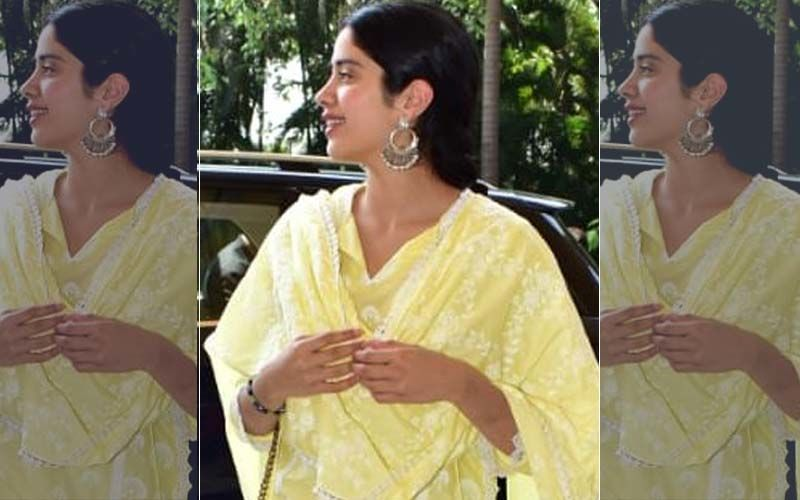 Janhvi Kapoor Has The Perfect Outfit To Beat The Heat Wave!