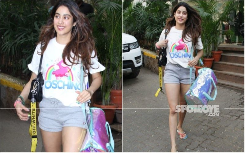 Janhvi Kapoor Is SO DONE With People Discussing Her Gym Shorts