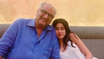 After Arjun Kapoor, Papa Boney Kapoor To Collaborate With Janhvi Kapoor For Bombay Girl, Details Inside