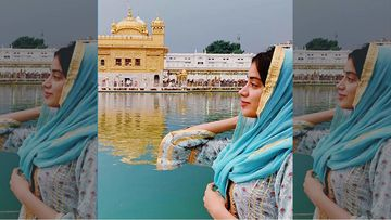 Dostana 2: Janhvi Kapoor Seeks Blessings At The Golden Temple After Relishing Some Punjabi Lassi