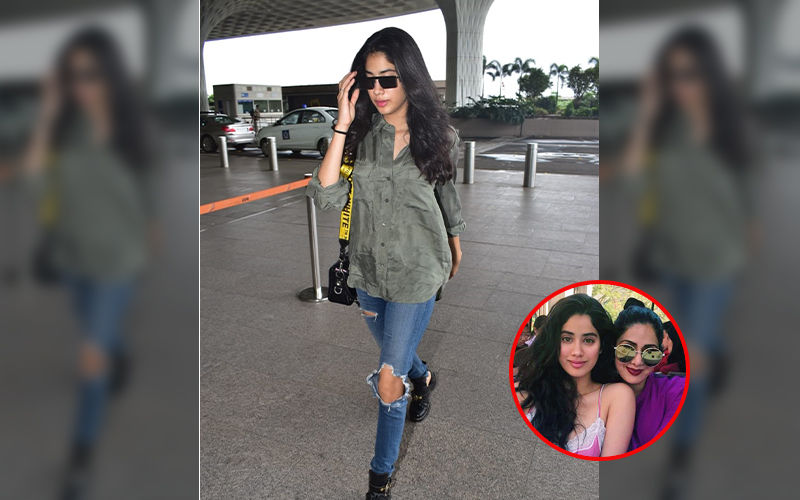 Janhvi Kapoor Is A Breath Of Fresh Air As She Heads To Madame Tussauds Singapore To Unveil Mother Sridevi's Wax Statue, Video Inside